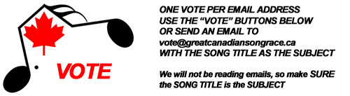 Great Canadian Song Race Asks You To Vote